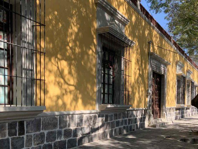 Fachada de 105 Francisco Sosa residencial, Mexihom , Coyoacán