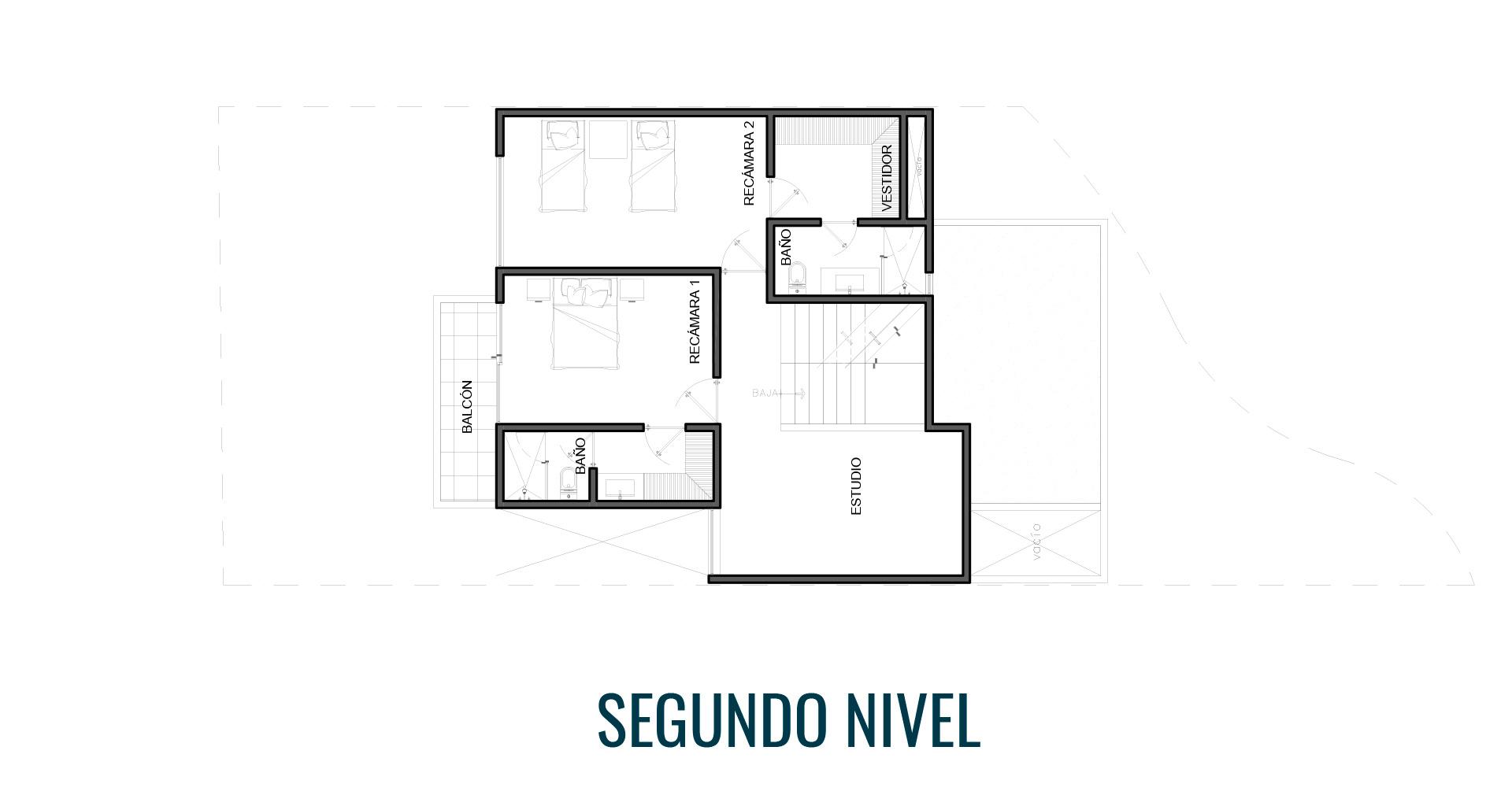 Margaritas 339 residencial Mexihom Residencia 2 segundo nivel