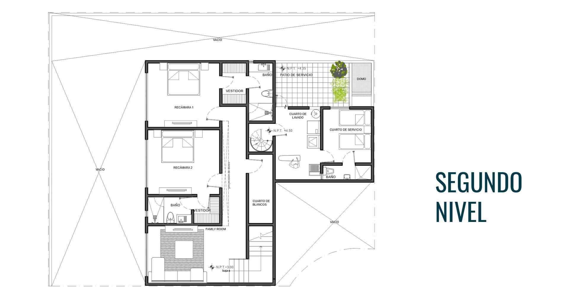Margaritas 339 residencial Mexihom Residencia 5 segundo nivel