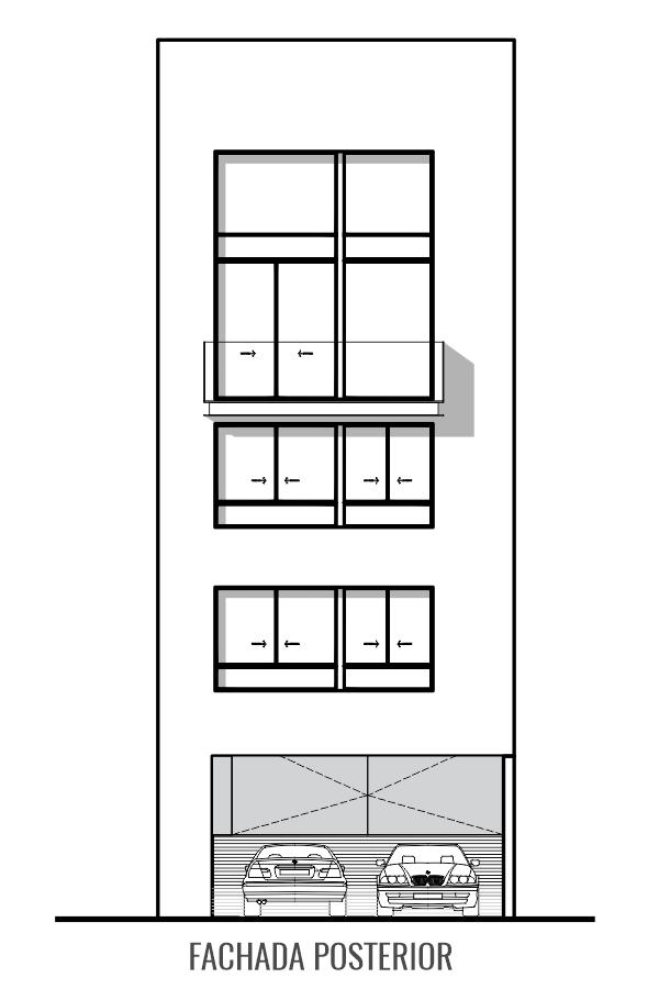 Luis Braille 188 Mexihom departamentos en venta fachada posterior